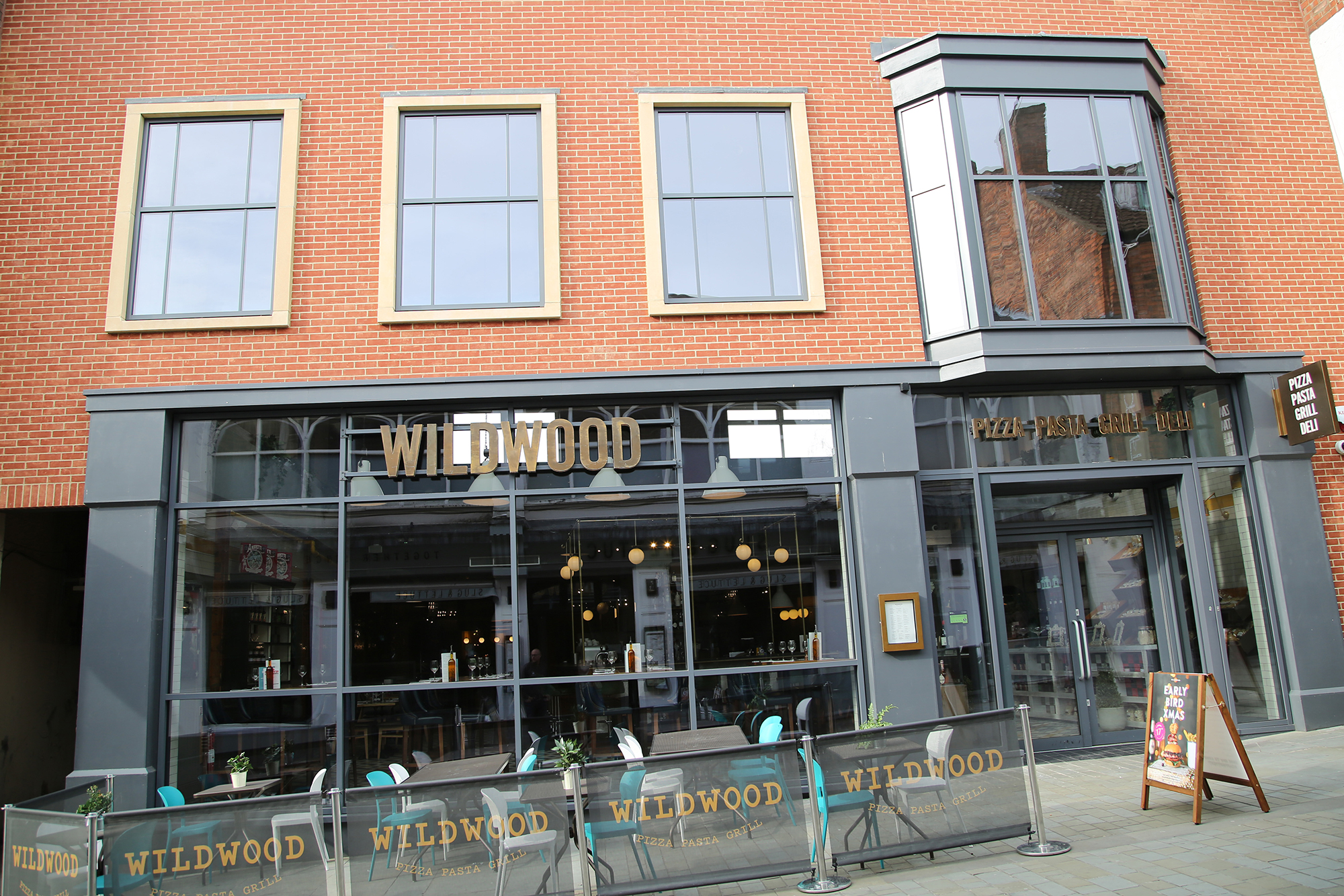 Wildwood, Lincoln - Grey Aluminium Windows, Doors and Curtain Walling by Newglaze Windows